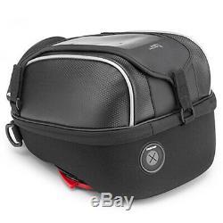 Kappa Rs309r Black Tanklock System 5 Ltr Capacity Motorcycle Motorbike Tank Bag