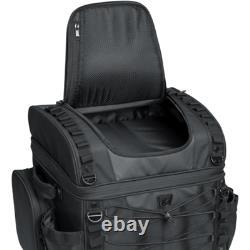 Kuryakyn Momentum Luggage Vagabond Motorcycle Black Tail Gear Bag