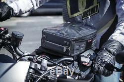 Kuryakyn XKursion XT Co-Pilot Motorcycle Tank Bag Black