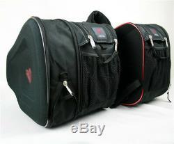 Large Capacity Motorcycle Saddle Bags Luggage Pannier Helmet Tank Bag+Rain Cover