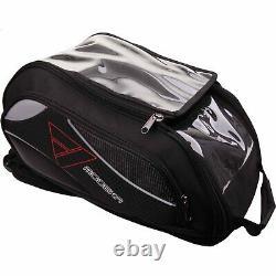 Modeka Super Bag Large Motorcycle Tank Bag Magnet Mounting 20 To 25 Litres