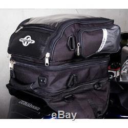 MotoDry Motorcycle Touring Luggage Adventure Bike Triplex Tank Bag Pack