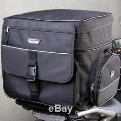 MotoDry NEW 44L Black Touring Adventure Motorcycle Luggage ZXR-2 Rear Tail Bag