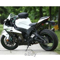 Motorcycle Bike Quick Release Buckle Fuel Tank Bag Hard Shell Shoulder Backpack