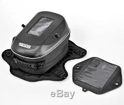 Motorcycle Fuel bag Tank Bag Box Magnetic GPS Camera Pack, Expandable, Universal