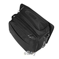 Motorcycle Oil Tank Bag Tail Saddle Bags Storage Pack Luggage Back Seat Helmet