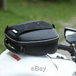 Motorcycle Quick Release Buckle Fuel Tank Storage Bag Shoulder Backpack With Cover