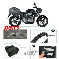 Motorcycle Rear Saddle Bag Luggage Pannier Helmet Tank Bag Great Capacity 36-58L
