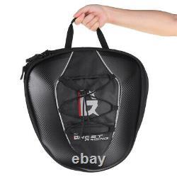 Motorcycle Rear Tail Seat Tank Bag Saddle Helmet Shoulder Storage