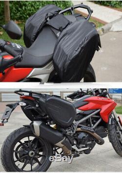 Motorcycle Saddlebag Oil Tank Bag Waterproof Motorbike Travel Luggage Tail Bag
