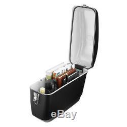 Motorcycle Side Box Luggage Tank Hard Case Saddle Bag Universal Matte Black