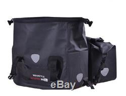 Motorcycle Tail Bag Tank Luggage Waterproof Motorbike SaddleBag Travel Backpacks