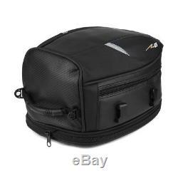 Motorcycle Tail Luggage Rear Pillion Tank Bag Waterproof Saddlebag Expandable