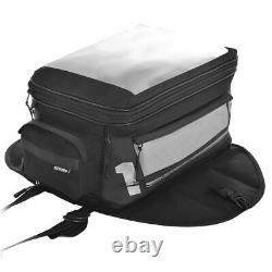 Motorcycle Tank Bag Oxford F1 35L Magnetic Waterproof Luggage Black