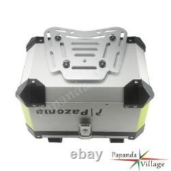 Motorcycle Universal Aluminum Alloy Rear Luggage Box Tail Trunk Top Case For BMW