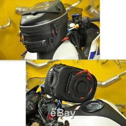 Motorcycle Universal Release Buckle Fuel Tank Hard Shell Shoulder Bag Backpack