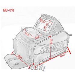 Motorcycle Waterproof Multifunctional Oil Tank Bag Luggage Backpack GPS Phone +