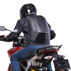 NEW Motorcycle Waterproof Multifunctional Hard Shell Tank Seat Tail Bag Backpack