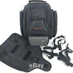 NEW Tourmaster Elite 14L Motorcycle Tank Bag Black Backpack NWOT