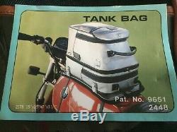 NOS BMW HSUCO Olympic Motorcycle Gas Tank Bag Vintage Carry Shoulder