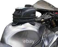Nelson Rigg CL-1100R Commuter Lite Motorcycle Tank Bag 10.5x7 Waterproof with co