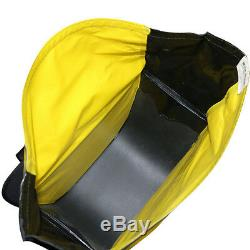 Nelson Rigg NEW SE-3050 Yellow Black Deluxe Adventure Dry Motorcycle Saddlebags