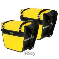 Nelson Rigg NEW SE-3050 Yellow Delux Adventure Dry Motorcycle Touring Saddlebags