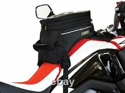 Nelson-Rigg Trails End Adventure Motorcycle Tank Bag RG-1045 Black Holds 12.3