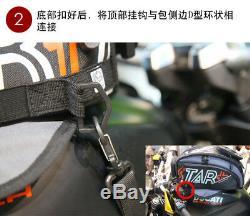 New Black Oil Fuel Tank Bag Magnetic Motorcycle Oil Fuel Tank Bag saddle bag