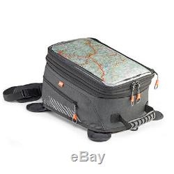 New Kappa AH200 Expandable Motorcycle Magnetic Tank Bag / Ruck Sack 14 to 24L