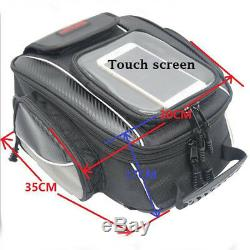 New Motorcycle Magnetic Oil Fuel Tank Bags Multifunction Tool Bag withRain Cover