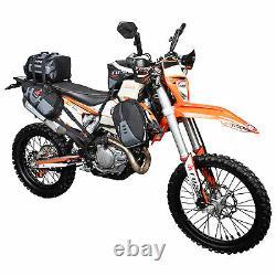 New! -Tusk Sidekick Tank Saddle Bags-Motorcycle, Dual Sport, ADV