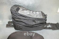 Nice BMW Sectional Motorcycle Gas Tank Bag Black Compartment Bag