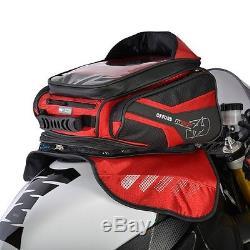 OXFORD M30R Magnetic Tankbag Red Lifetime Motorcycle Luggage Backpack OL246