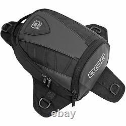 Ogio Super Mini Tanker 6l Black Motorcycle Motorbike Magnetic Bike Tank Bag