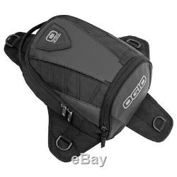 Ogio Supermini Stealth Adventure Tail Pack Black Motorcycle Tanker Bag