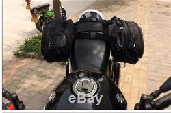 One Pair Multifunction 36-58L Motorcycle Saddle Bags Luggage Box Helmet Tank Bag