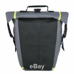 Oxford Aqua M8 Grey Waterproof Magnetic Motorcycle Motorbike Tank Bag Pack 8L