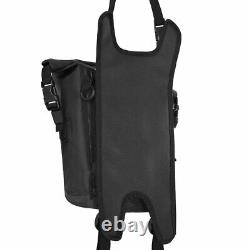 Oxford Aqua S8 Strap on Motorcycle Motorbike Tank bag with Harness Black