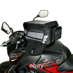 Oxford F1 M35 Magnetic Tank Bag Large 35L Black Map Holder Back Pack Motorcycle