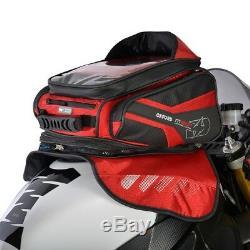 Oxford M30R 30 Liter Magnetic Motorcycle Luggage Tank Bag Red OL246
