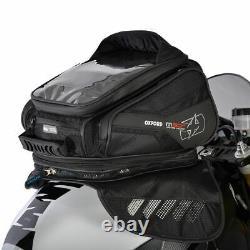 Oxford M30R Lifetime Magnetic Motorcycle Tank Bag Motorbike Luggage Black OL245