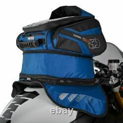 Oxford M30R Motorcycle Tank Bag Motorbike Magnetic Tankbag Blue 30L New