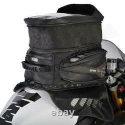Oxford M40R Magnetic Motorcycle Tank Bag Lifetime Motorbike Luggage Black OL205