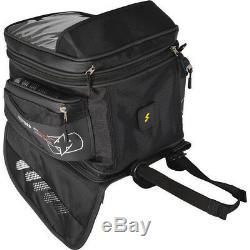 Oxford M40R Magnetic Tank Bag 40L Black Waterproof Luggage Motorcycle Sat-Nav