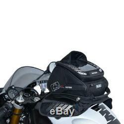 Oxford M4R Motorcycle Tank Bag Motorbike Tail Bag Tank'N' Tailer Black (OL255)