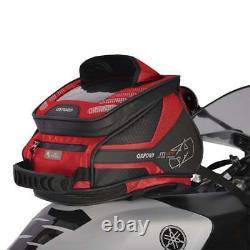 Oxford M4R Tank'N' Tailer Motor Bike Motorcycle Luggage Tank Bag Red