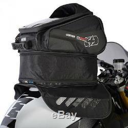 Oxford OL245 M30R Magnetic Motorcycle Tank Bag Black 30 Litres