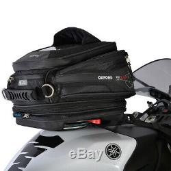 Oxford Q15R Quick Release Expandable Motorcycle Motorbike Tank Bag OL216
