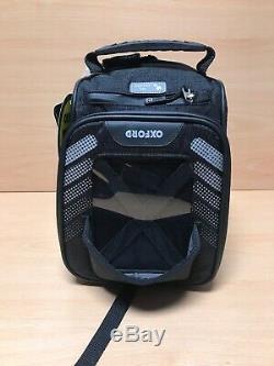 Oxford Q4R Black Moto Motorcycle Motorbike Lightweight Quick Release Tank Bag